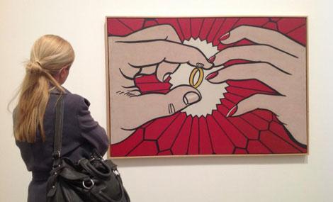Otra de las obras del artista expuestas en la Tate Gallery.   C. F.