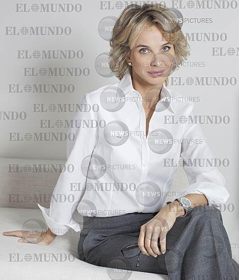 La princesa Corinna el pasado jueves en su despacho de Mónaco fotografiada para EL MUNDO. | Copyright: News Pictures / Prohibida su reproducción