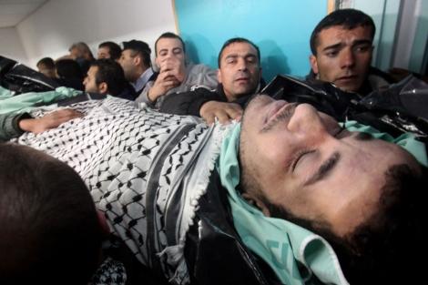 Arafat Jaradat falleció en una cárcel de Israel.| Afp