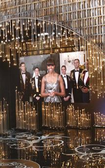 Michelle Obama, en su lectura de la mejor película.