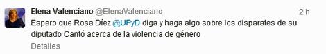 Tuit de Elena Valenciano
