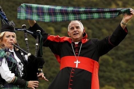 El cardenal O'Brien, en un acto en Edimburgo. | Reuters