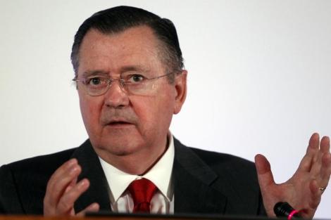 El consejero delegado del Banco Santander, Alfredo Sáenz. | Javier Barbancho