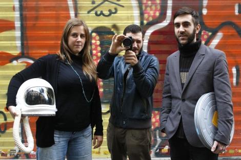 Los chicos de El Cosmonauta iniciaron el movimiento crowdfunding en España. | S. González