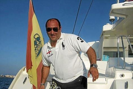 Otto Díaz Alperi, hijo del diputado del PP y ex alcalde de Alicante, Luis Díaz. | E.M.