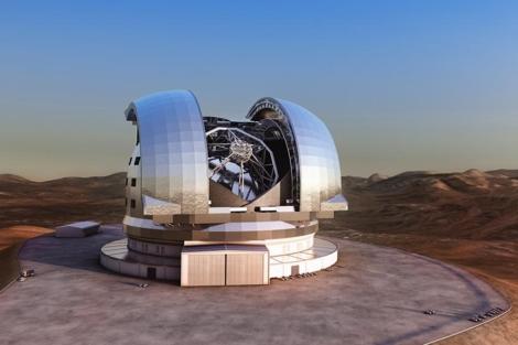 Figuración del Telescopio Europeo Extremadamente Grande en Chile. | ESO