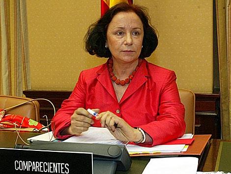 La ex ministra de Exteriores Ana Palacio, en una imagen de archivo. | Julio Palomar