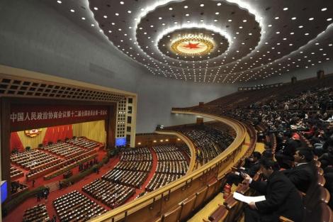 Delegados en la Conferencia Consultiva Política del Pueblo Chino. | Reuters