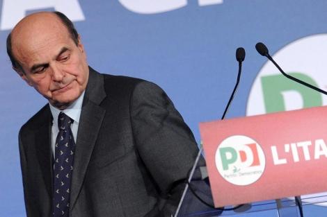 El líder del centroizquierda italiano, Pier Luigi Bersani, en Roma. | Efe