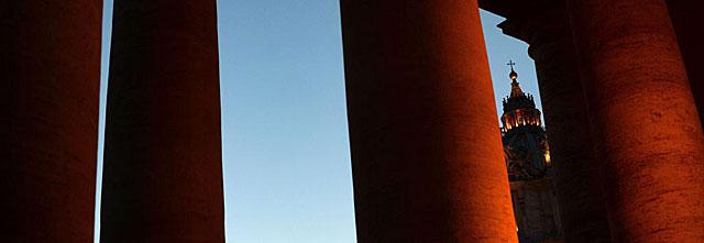 Vista de la cúpula de San Pedro. | Afp