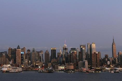 Panorámica de Manhattan, donde se instalarán puntos de acceso a WiFi. | Reuters