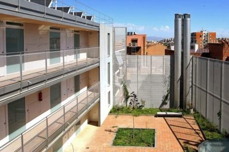 La promoción de vivienda protegida de la calle Margaritas 52, en el distrito de Tetuán. | EM