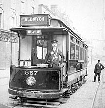 Tranvía, en una imagen del libro 'Londres'.