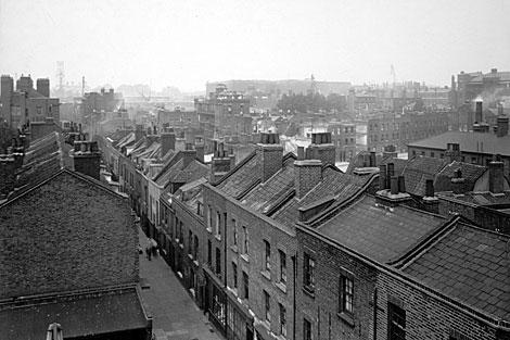 Tejados, en una imagen publicada en el libro 'Londres'.