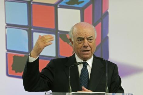 El presidente de BBVA, Francisco González. | Efe