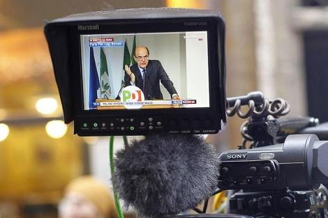 Pierluigi Bersani, visto por el objetivo de una cámara. | Efe