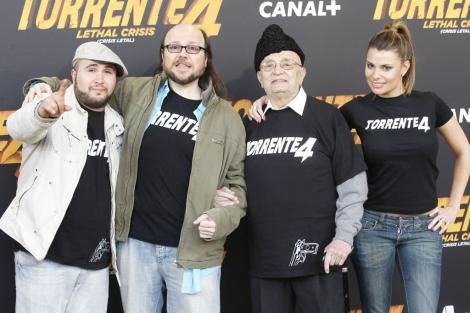 Kiko Rivera, Segura, Tony Leblanc y María Lapiedra. | José Aymá González