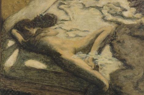 'La Indolente', de Bonnard, pieza de la exposición 'L'ange du bizarre'. VEA MÁS IMÁGENES