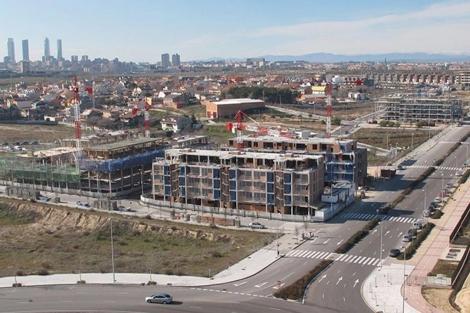 Cerca de 4.000 viviendas se están edificando ya en el nuevo desarrollo.   Vadebebas.es