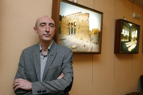El nuevo director del conjunto monumental de Medina Azahara, José Escudero. | M. Cubero
