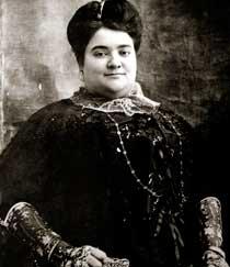 La mujer de Juan March.