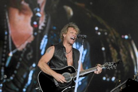 John Bon Jovi, durante un concierto en 2010 en Arganda del Rey. | Reuters