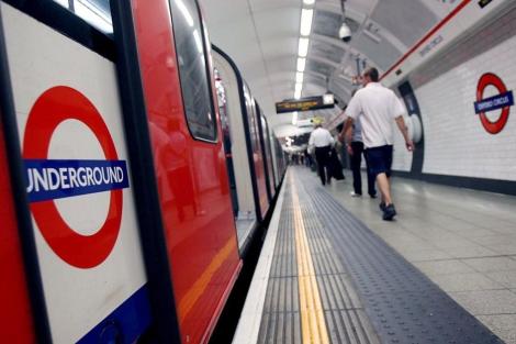 Interior del Metro de Londres. | Efe