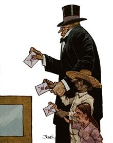 Dibujo de Darío Castillejos.