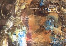 Localización de ALMA.   ESO