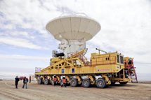 Transportador de antenas.   ESO