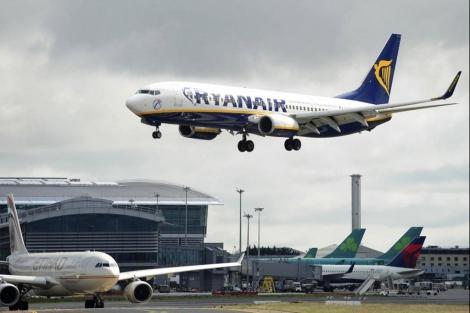 Aterrizaje en el aeropuerto de Dublín. | Ryanair