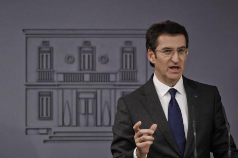 El presidente de la Xunta, Alberto Núñez Feijóo. | Efe