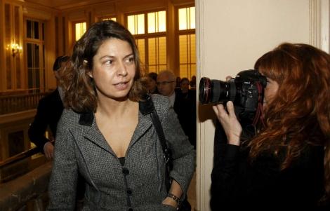 Lucía Figar, consejera de Educación de la Comunidad de Madrid. | Sergio