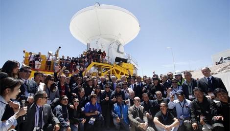 Inauguración del Observatorio el pasado miércoles. | Efe