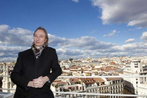 El astrofísico Stuart Clark, durante su visita a Madrid.| Sergio González