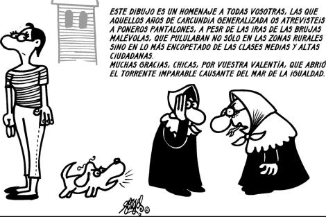 Viñeta de Forges extraída de 'Del guateque al altar'.