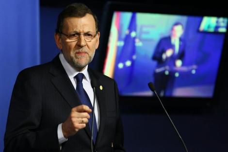 Rajoy este jueves en Bruselas. |