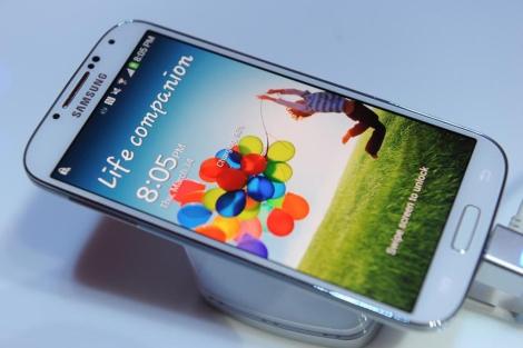 Nuevo modelo Samsung Galaxy IV.   Afp