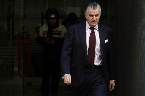 Bárcenas, a su salida de la Audiencia Nacional el pasado día 14. | Javier Barbancho