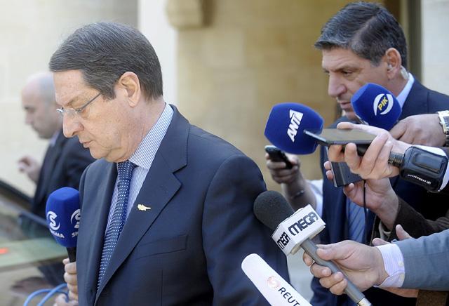 El presidente de Chipre, Nicos Anastasiadis.   Efe
