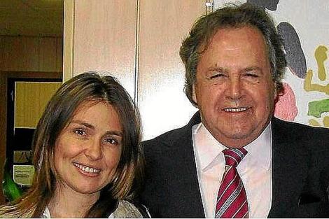 Tomás Pérez-Sauquillo junto a Laura Gómiz. | Press Agency