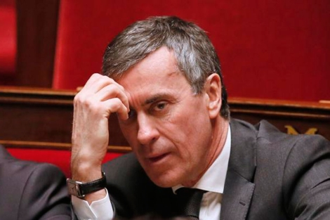 Cahuzac, en una sesión reciente en la Asamblea Nacional. | Afp