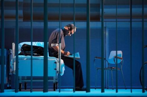 Un momento de la obra 'El hijo del acordeonista'.   M. Díaz de Rada