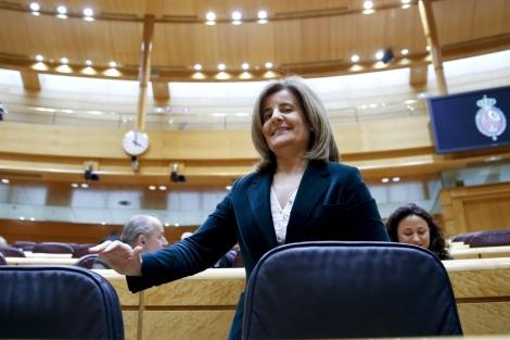 La ministra de Empleo, Fátima Báñez. | Efe