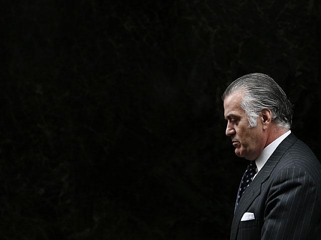 El ex tesorero del PP Luis Bárcenas, al ir adeclarar hoy en la Audiencia Nacional. | Susana Vera / Reuters