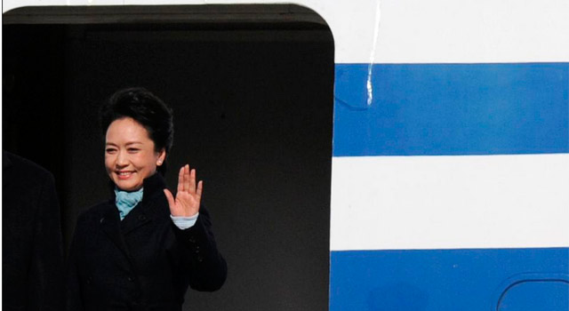 La primera dama china, Peng Liyuan. | Afp