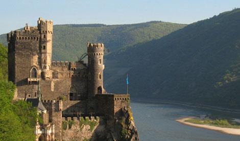 Burg Rheinstein.