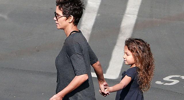 La actriz y su hija, en Los Ángeles. | Gtres