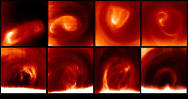 El estudio se realizó con datos de la sonda 'Venus Express'.  CSIC
