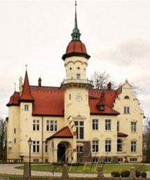 Castillo en Schleswig Holstein.